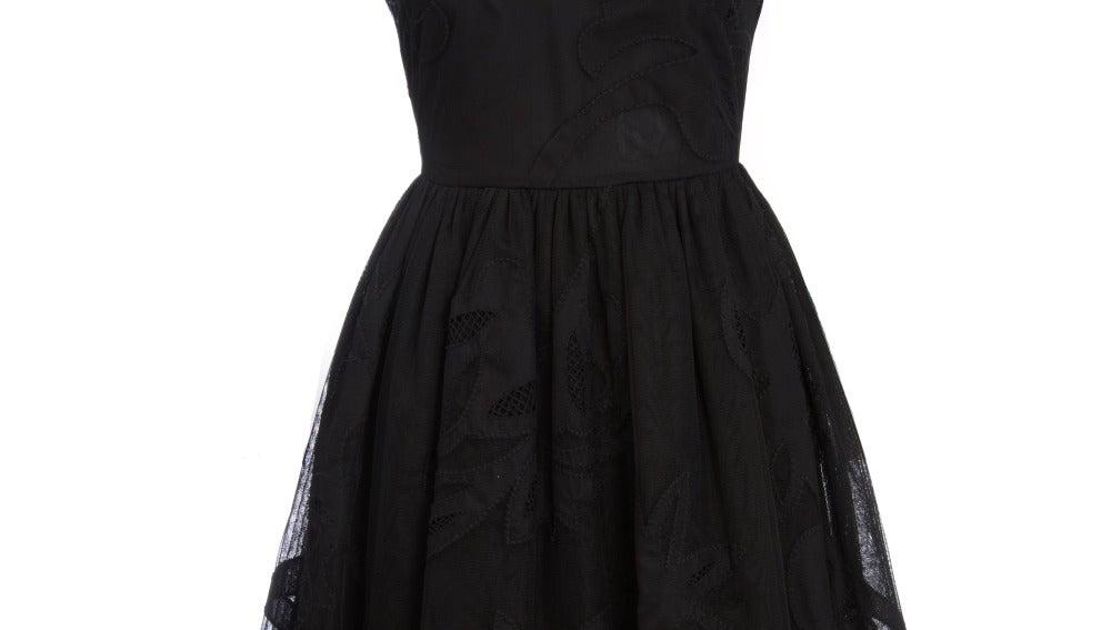Asos vestido negro 126,35€