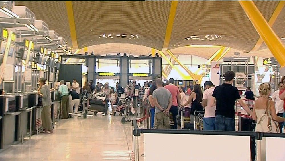 Más de 5.600 vuelos el primer fin de semana de agosto