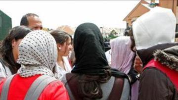 Varias mujeres vistiendo el velo islámico