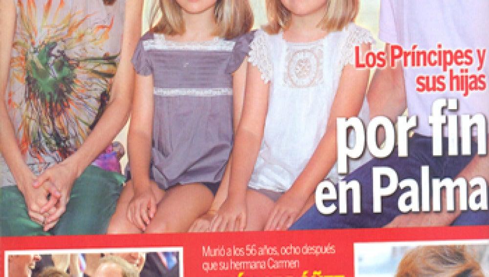 Semana da el protagonismo a los Príncipes de Asturias y a las infantas