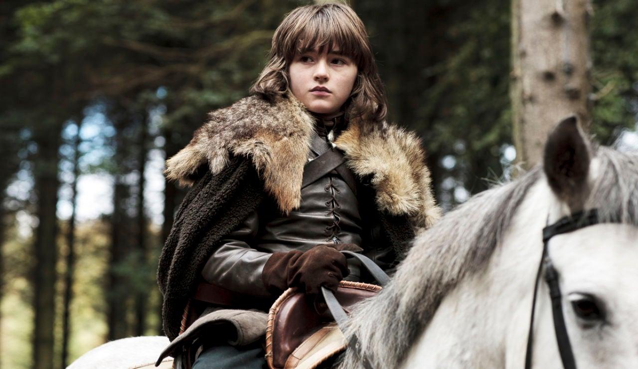 Bran Stark, subido a caballo