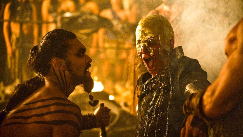 Khal Drogo, líder de la tribu