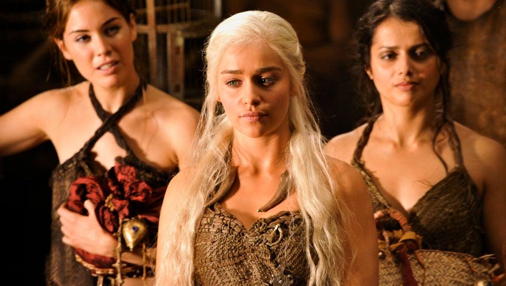 Daenerys y su séquito