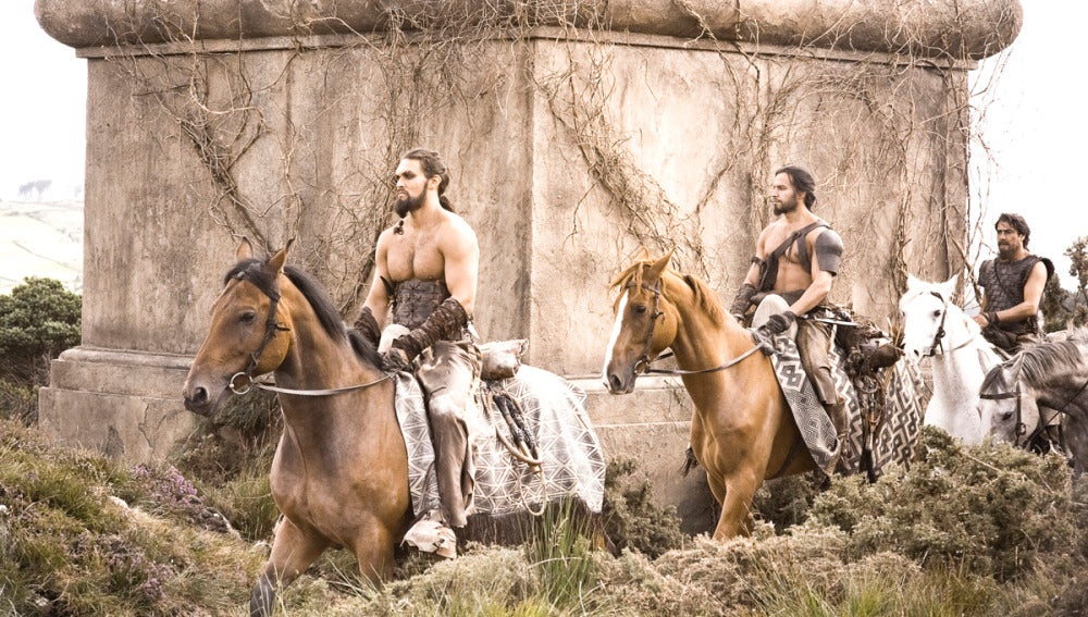 Los dothrakis en Essos