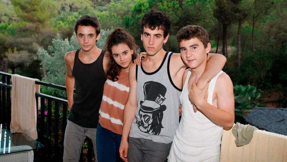 Protagonistas de Pulseras Rojas (Segunda temporada)