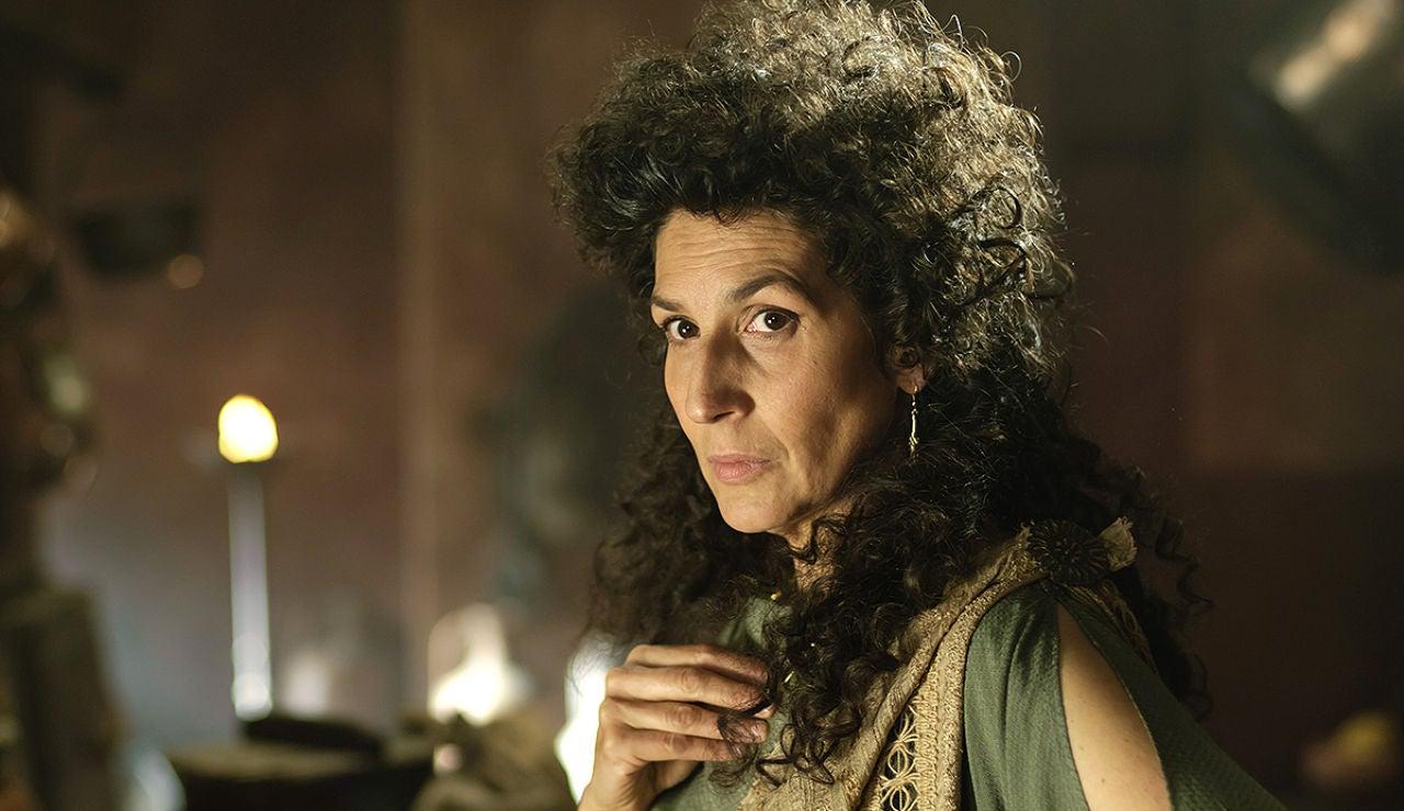 Elvira Mínguez es Antonia, la cuñada de Galba