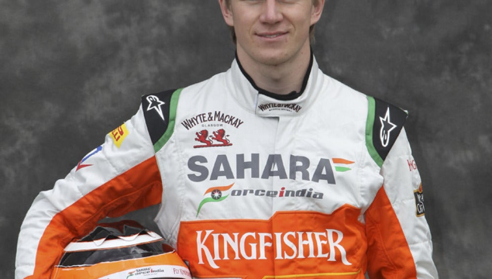El piloto de Force India, Nico Hulkenberg.