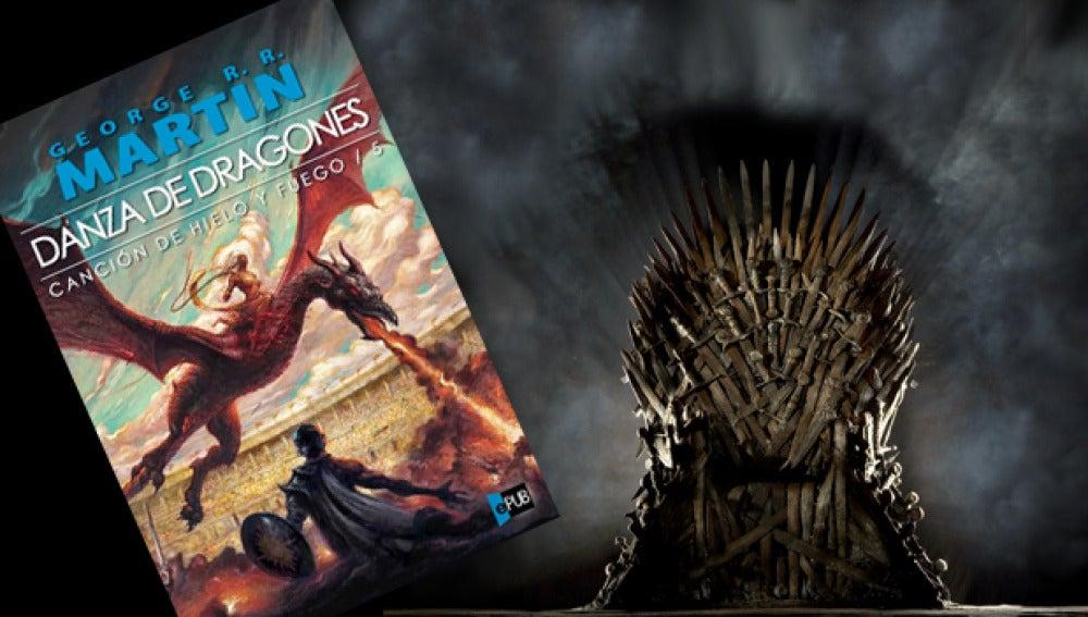 Quinto libro de Juego de Tronos: Danza de dragones