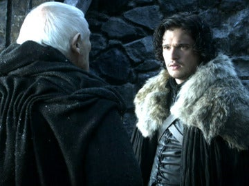 Jon descubre el secreto del Maestre Aemon