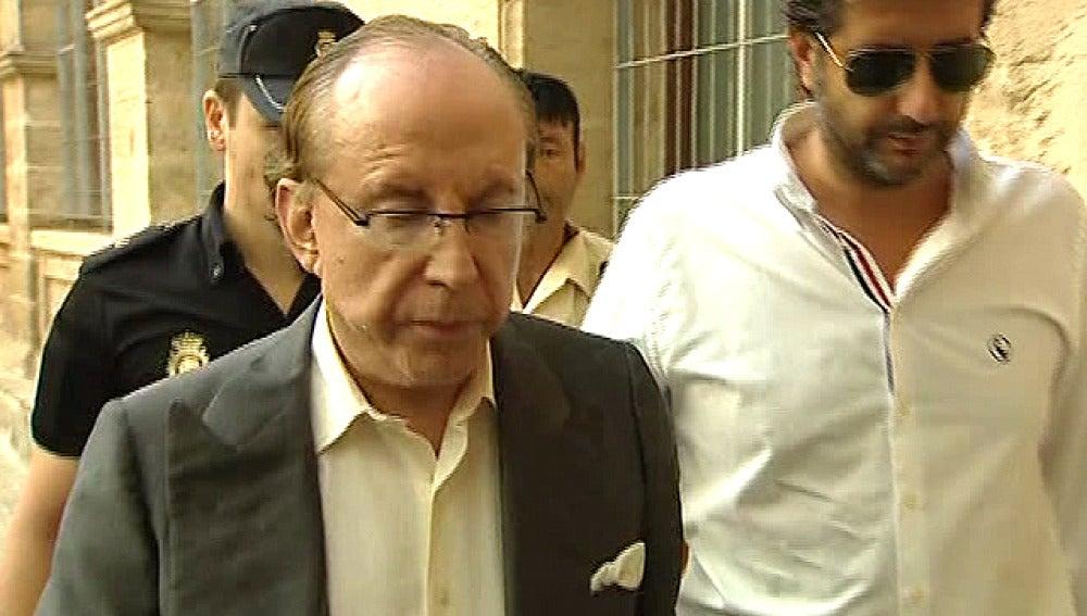 José María Ruiz-Mateos llega al juzgado de Palma