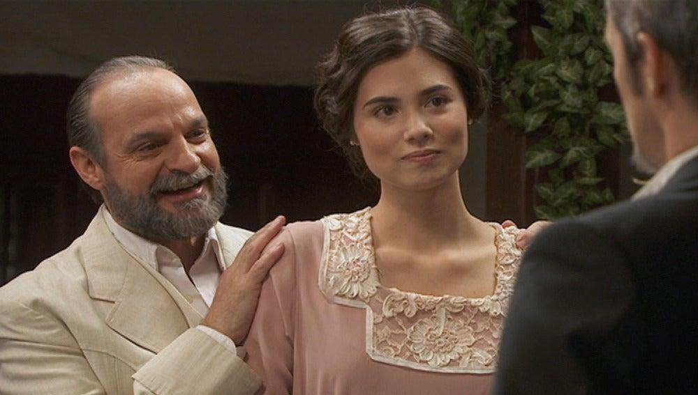 Maria se entera de que Gonzalo aún no es cura