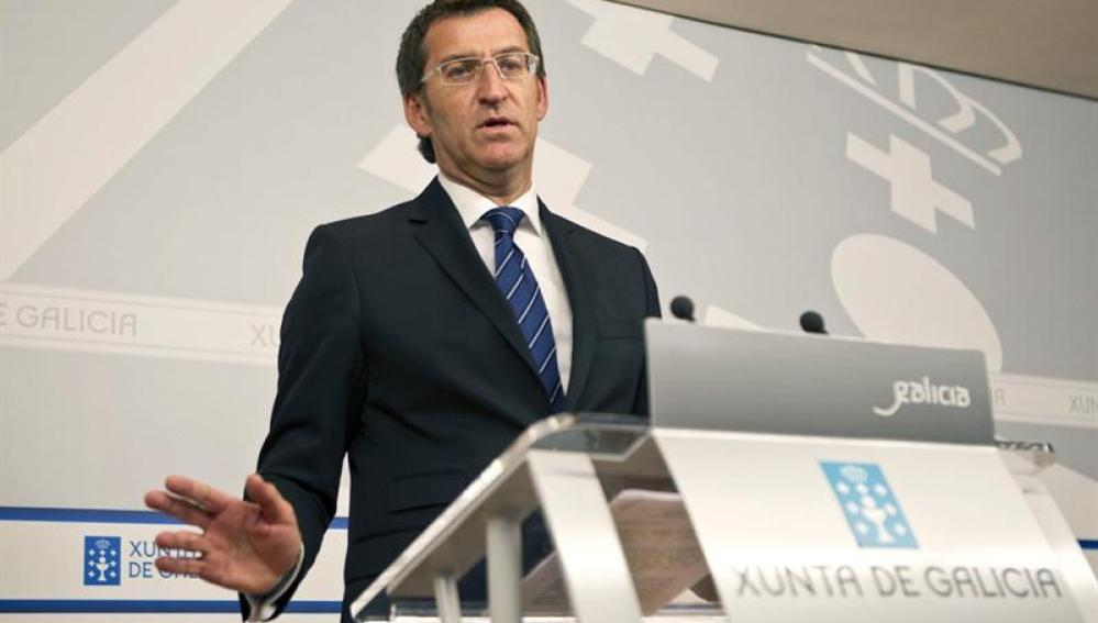 Alberto Nuñez Feijóo, presidente de la Xunta de Galicia
