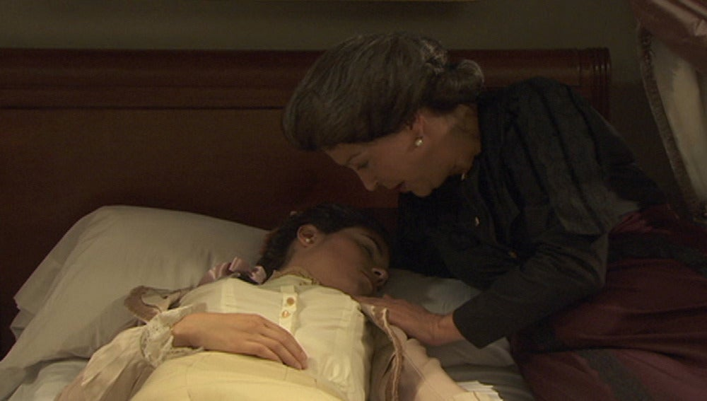 Maria cae enferma