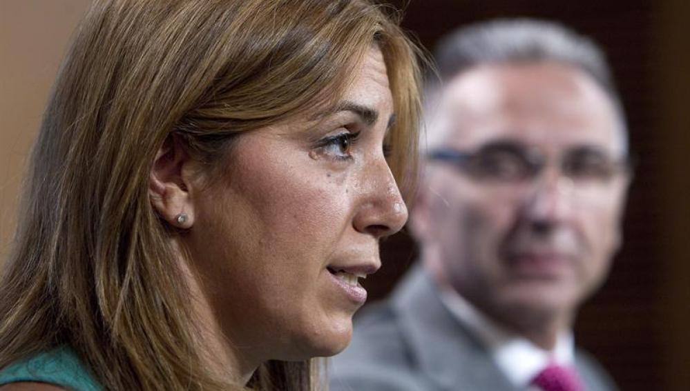 La consejera de la Presidencia, Susana Díaz