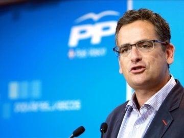 Antonio Basagoiti, presidente del PP Vasco