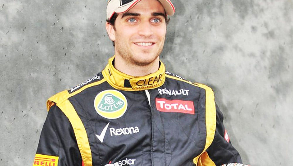 El piloto de Lotus Jerome D´Ambrosio.