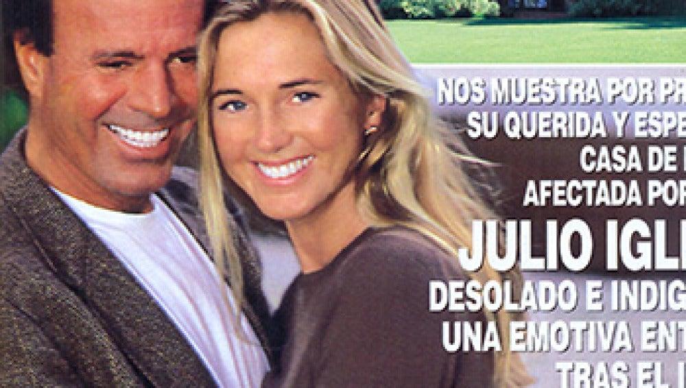Hola recoge la tristeza de la familia de Julio Iglesias tras alcanzar las llamas de Marbella su preciosa casa