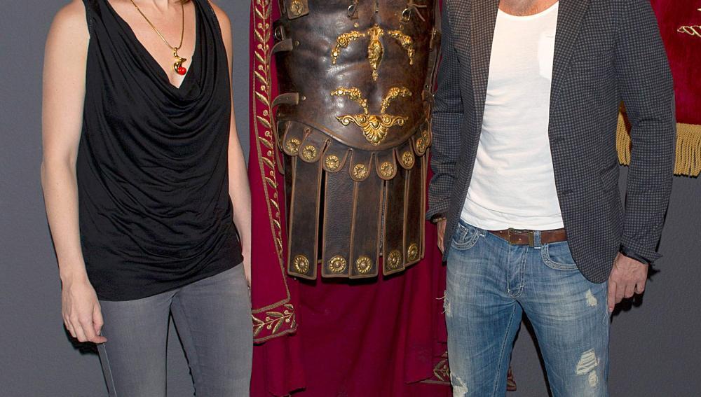 Exposición de series con los actores de 'Imperium'