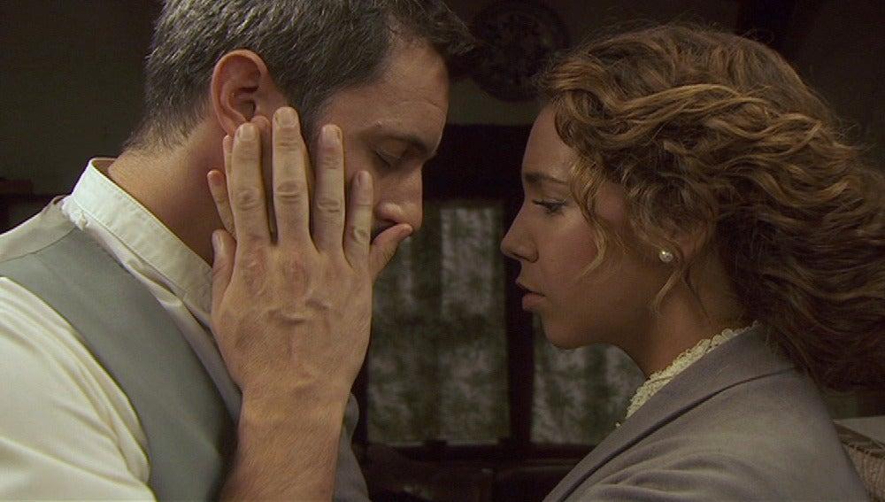 Alfonso y Emilia se reconcilian