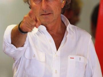 Montezemolo, presidente de Ferrari