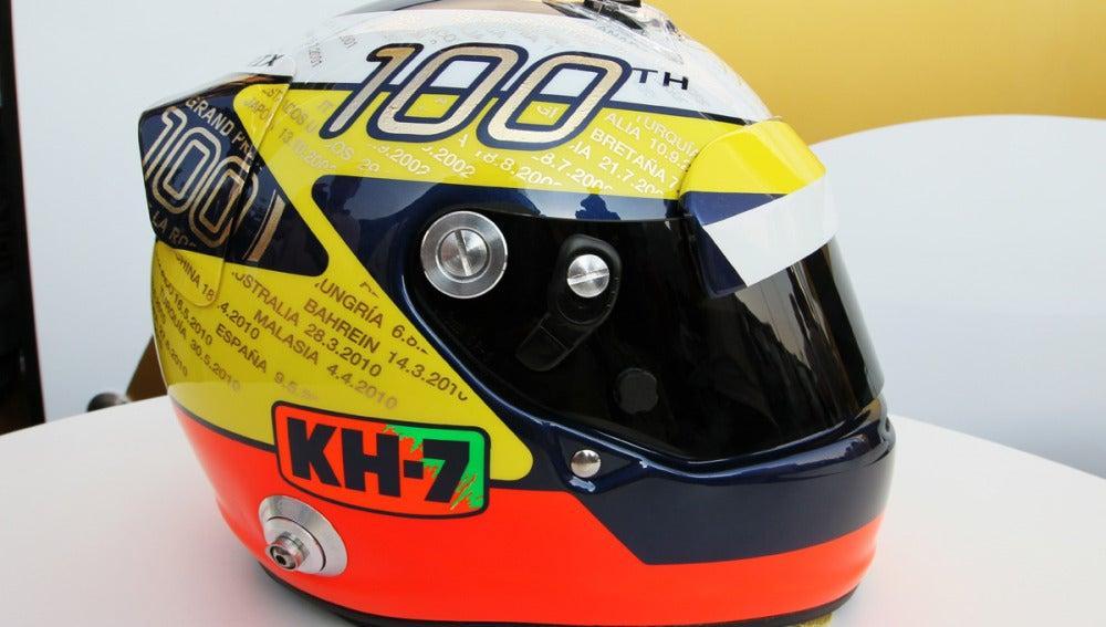 El casco de las cien carreras
