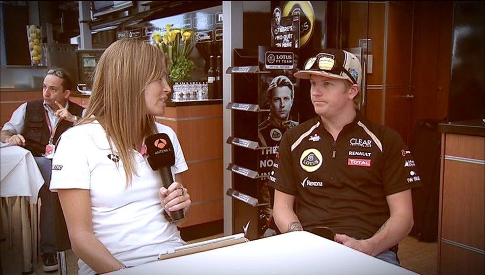 Nira Juanco entrevista a Kimi Raikkonen