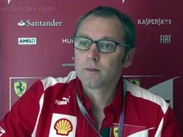 Domenicali, patrón de Ferrari
