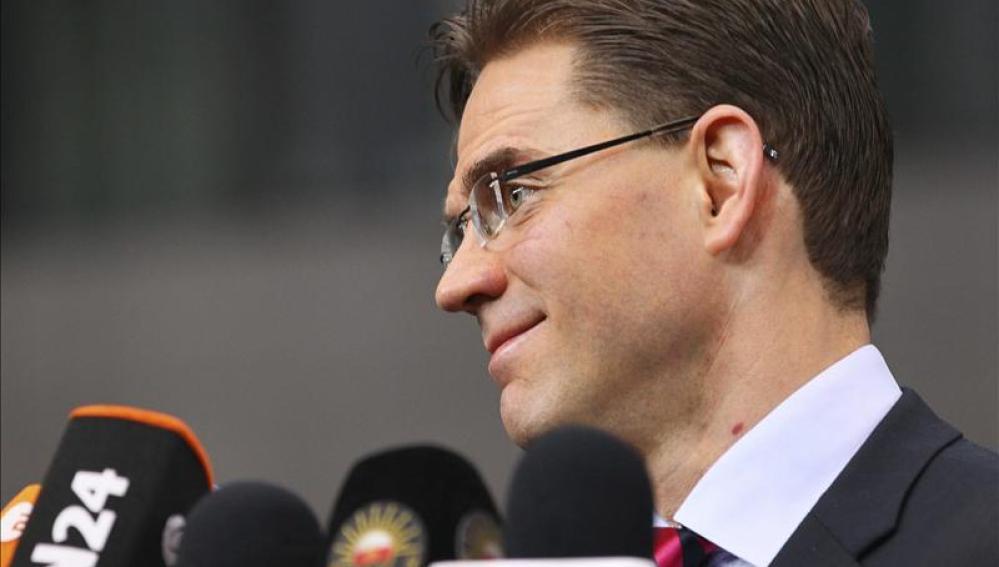 El primer ministro finés, Jyrki Katainen