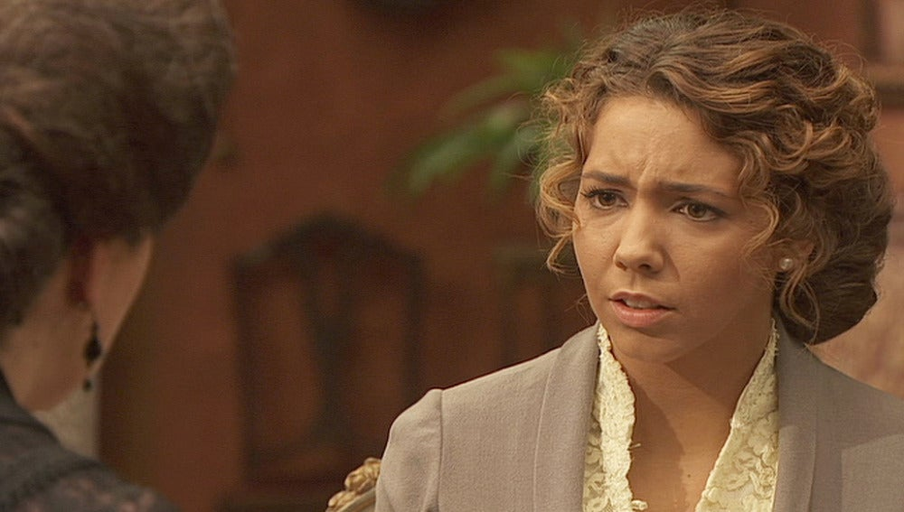 Emilia teme que Francisca cuente su secreto