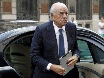 El presidente del BBVA, Francisco González.