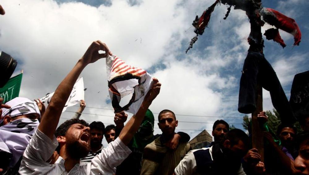 Protestas en el mundo islámico por el vídeo que ridiculiza a Mahoma