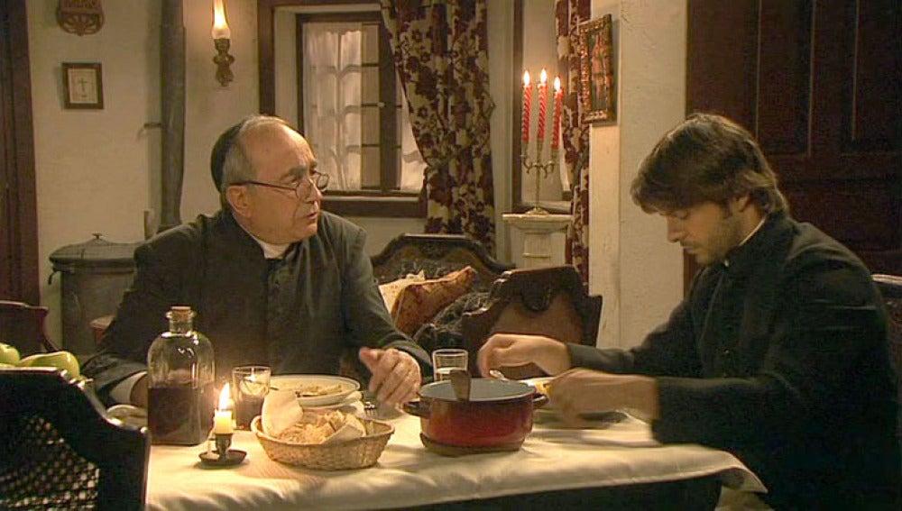 Don Anselmo cuenta a Gonzalo la historia de Pepa