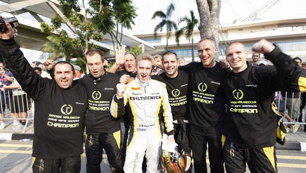 Valsecchi celebra el Mundial de GP2 Series