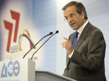 El primer ministro griego Andonis Samarás