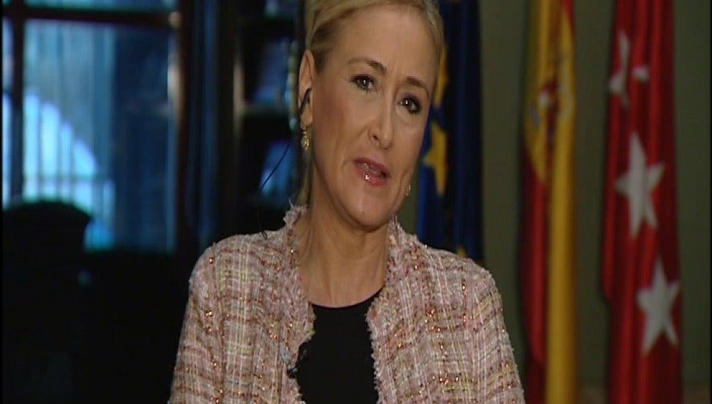 Cristina Cifuentes, delegada del gobierno en la Comunidad de Madrid