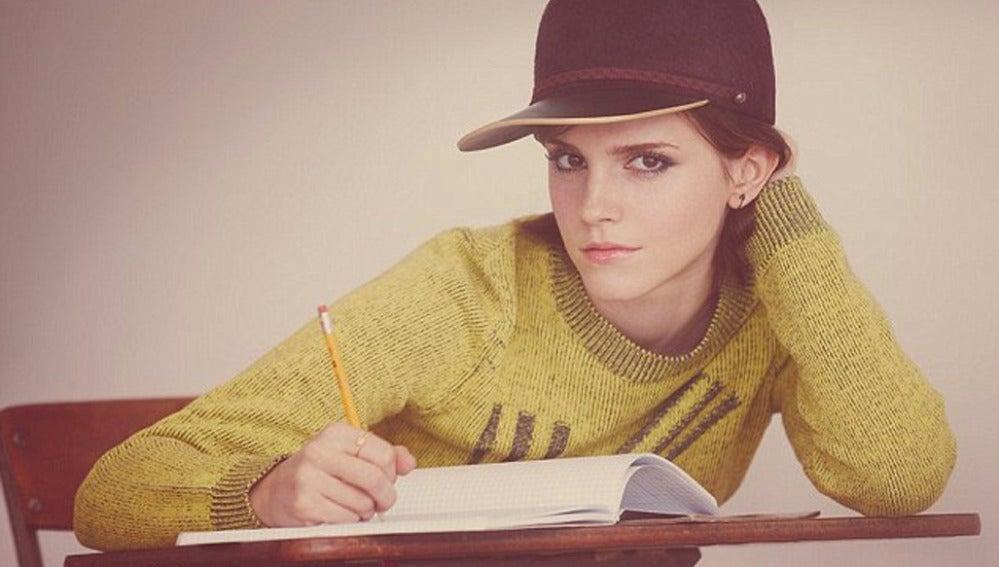Emma Watson vuelve a las clases en su nueva peli