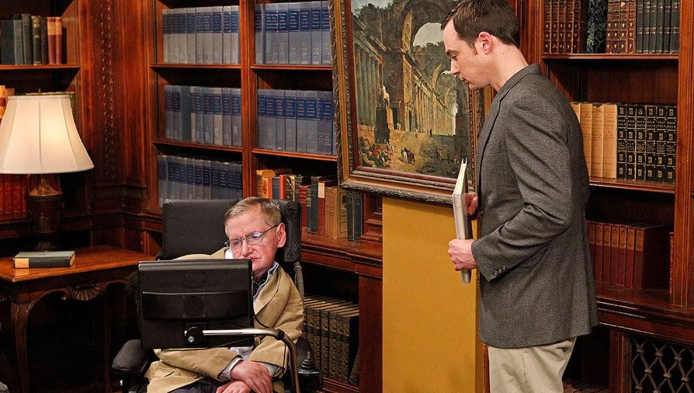 Stephen Hawking en 'Big Bang'