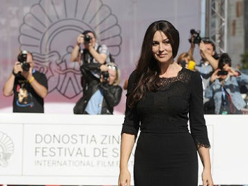 Monica Belluci llega a San Sebastián