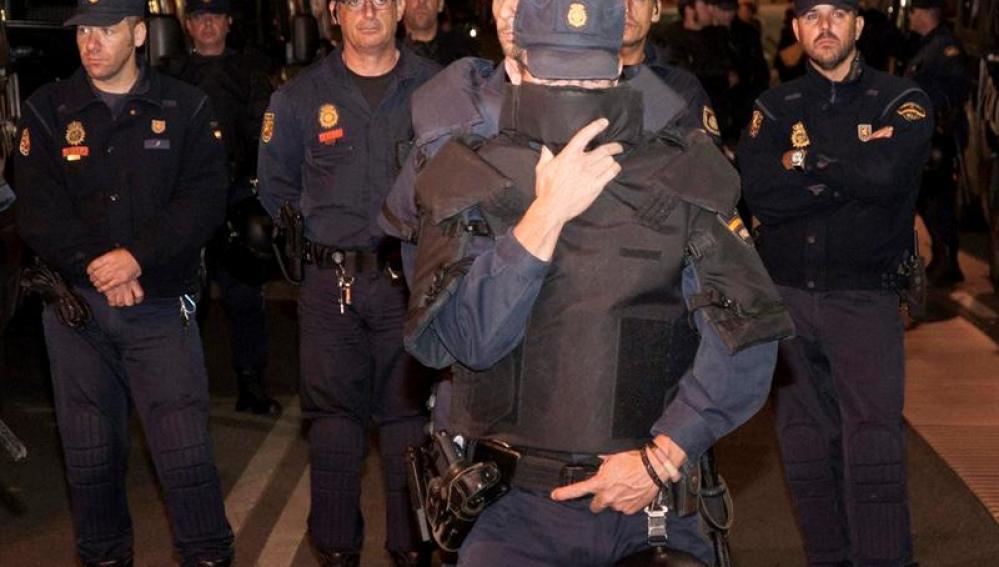 La Audiencia Nacional no juzgará a los detenidos del 25S