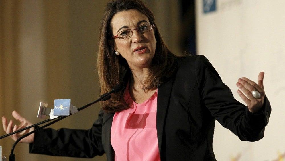 """Soraya Rodríguez asegura que la """"austeridad suicida"""" agravará la recesión."""