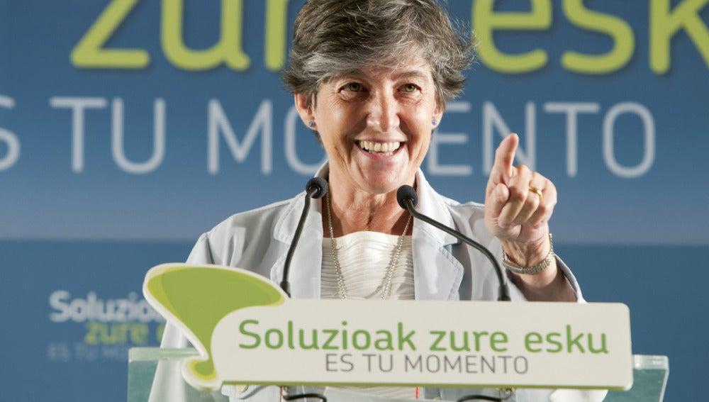 Laura Mintegi, portavoz de EH Bildu