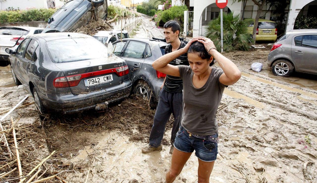 Inundaciones en Vera