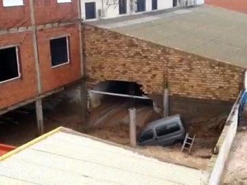 Impactantes inundaciones en Almería