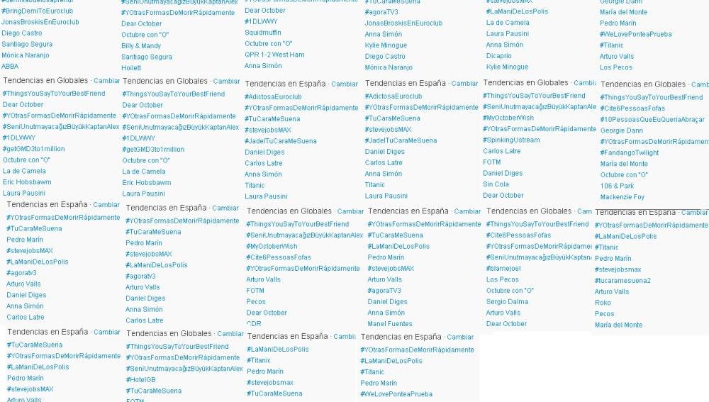 Trending tópics primera gala de 'Tu Cara Me Suena'