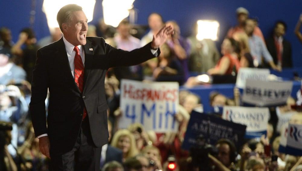 Romney ensaya para el debate presidencial en Denver