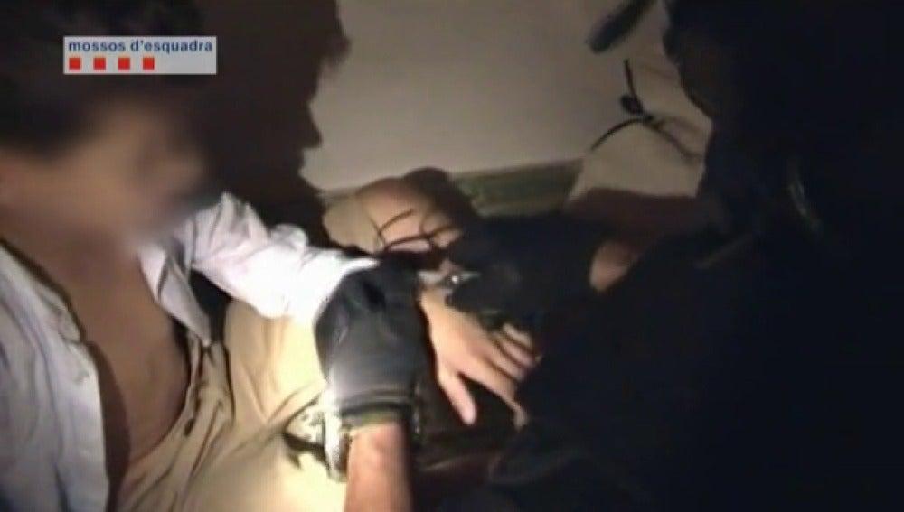 Así fue la liberación del niño raptado en Barcelona