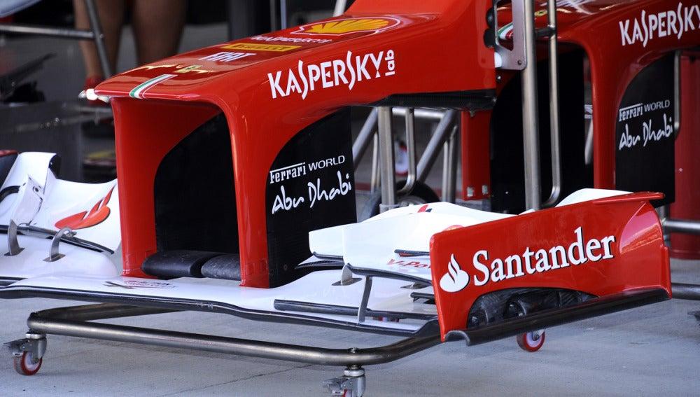 El alerón de Ferrari