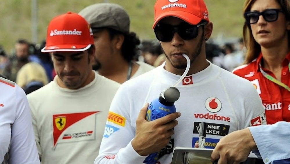 Hamilton tras la clasificación