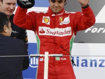 Massa en su mejor momento de esta temporada: segundo en Japón