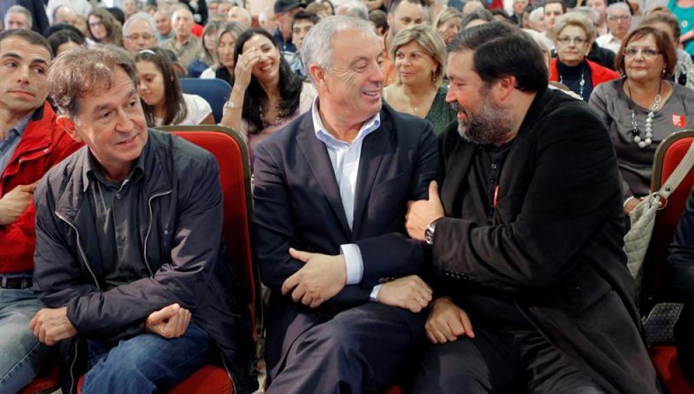 Pachi Vázquez en un acto en Galicia